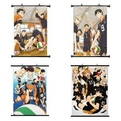 Anime Haikyuu Canvas Wall Home Decoration Cosplay Scroll Exquisite US $11.28