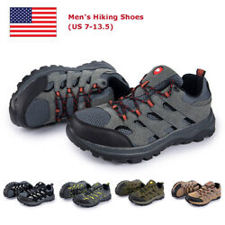 Mens Athletic Shoes Hiking Shoes Outdoor Trail Trekking Breathable Climbing Shoe $36.00