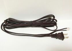 Lamp Parts 12#x27; Lamp Cord Set Wire and Polarized Plug Brown SPT1 18 2 U.L. $5.76