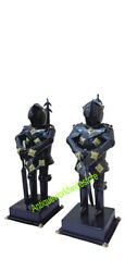 Medieval Mini Suit of Knights Armor for Home and Office Decorative Set of 2 $300.00