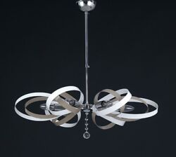 Hanging Modern Chandelier Chrome Colorful Colors Combined To $169.89