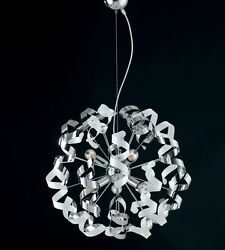 Hanging Modern Chandelier Chrome Colorful Colors Combined Hand $292.11