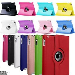 For iPad 10.2quot; 2019 7th Generation 360 Rotating Leather Smart Stand Case Cover $12.99