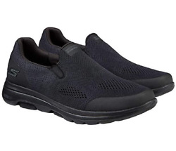 Skechers Men#x27;s Go Walk Shoe ULTRA GO Cushioning Air Cooled Black Size 12