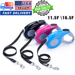 Retractable Dog Leash 16 FT Heavy Duty Pet Walking Leash For Dogs Up to 50 lbs $8.99