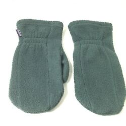 Patagonia Size Small Green Fleece Mittens Gloves Vintage Gloves $19.99