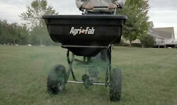 Tow Behind Grass Seed Salt Broadcast Lawn Fertilizer Spreader Pull Rustproof $69.60