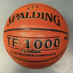 NEW Spalding TF1000 Classic Composite Leather Basketball 29.5quot; $44.99