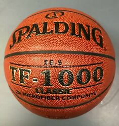 NEW Spalding TF1000 Classic Composite Leather Basketball 28.5quot; $44.99