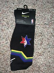 Nike Elite Jordan Jumpman 2020 NBA All Star Socks Large 8 12 SK0139 010 Be True $34.99