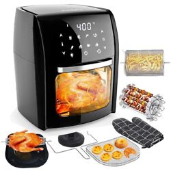 Audew Air Fryer Oven 7 in 1 Air Fryer with 12.7Qt Large Capacity 1700W 110V $79.99