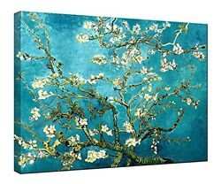 Canvas Print Picture Van Gogh Painting Repro Wall Art Home Decor Almond Blossom $5.00
