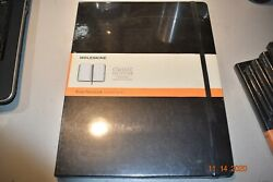 Genuine Moleskine Notebook Classic Black Large Ruled Hard Cover 11 x 8.25quot; $11.99