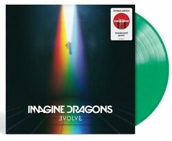 Imagine Dragons Evolve LP 12quot; Target Exclusive Translucent Green Vinyl New $31.99