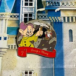 2020 Disney 12 Days Of Christmas Pin Frumpy Dopey 7 Dwarfs Snow White #7 $14.95