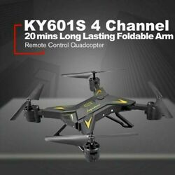 Foldable Drone RC Quadcopter HD 5.0MP Camera WIFI FPV 1080P KY601S Aircraft Toy $32.99