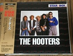 THE HOOTERS STAR BOX JAPAN PROMO CD 18TRACKS w obi SRCS 6897 $30.00