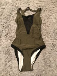 Womens One Piece Bathing Suit Cupshe Size Large $4.99