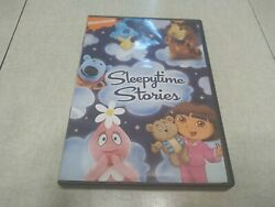 Sleepytime Stories Nickelodeon Nick Jr Dora Blue's Clues Yo Gabba Gabba DVD $25.00