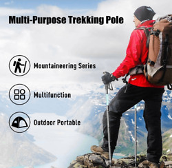 Trekking Poles Lightweight Aluminum Adjustable Suitable for Hikingcamping $29.99