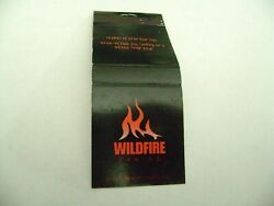 1 Match Book quot;WILDFIRE GAMINGquot; Las Vegas complete A. $2.45