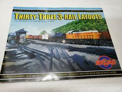 Atlas O Gauge Thirty Three 3 Rail Layouts Reference Manual Diagrams 6007 $14.98