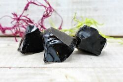 1 4 lb Bulk Lot Natural Rough Obsidian Raw Crystal Rock Mineral 4 oz $6.70