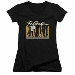 Footloose Dance Party Juniors V Neck T Shirt $22.25