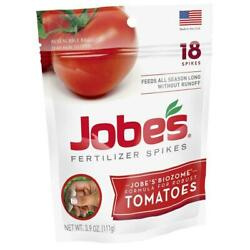 Jobe#x27;s Tomato Fertilizer Spikes 18 Spikes $4.79