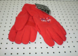 Brand New Men#x27;s NHL Washington Capitals Embroidered Fleece Gloves Reebok Large $9.95