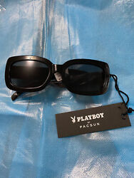 Playboy Pacsun Sunglasees Small Frame NWT Black $26.00