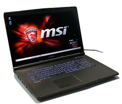 "MSI GP72VR 7RF 17.3"" 120Hz Gaming Laptop i7 7700HQ GTX 1060 1TB HDD DVD Drive $649.99"