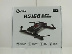 Holy Stone HS160 Pro Foldable Drone with 1080P Camera FPV Quadcopter 2 Batteries $59.00