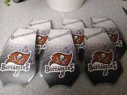 6 Glass Replacement Shades for Touch Me Lamps TAMPA BAY BUCCANEERS New $28.99