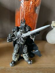 WOW WORLD OF WARCRAFT FALL OF THE LICH KING ARTHAS MENETHIL figurine game 17cm $19.97