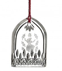 NEW Waterford 12 DAYS OF CHRISTMAS 9 LADIES DANCING Lismore ORNAMENT # 40008734 $69.99