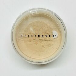 Sheer Cover Mineral Foundation SPF 15 BUFF 4g New In Sealed Container Ships Free $21.95