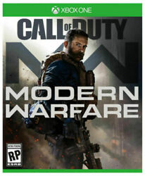 Call of Duty: Modern Warfare USED SEALED Microsoft Xbox One 2019 $34.89