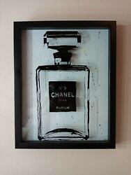 N°5 Perfume Framed Wall Art $60.00