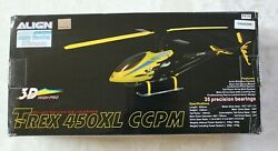 Align Helicopter Kit Trex 450XL CCPM 3D High Pro new vintage never assembled $279.99