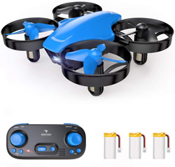 SNAPTAIN SP350 Mini Drone for Kids Beginners Portable Throw#x27;n Go RC Quadcopter $47.94