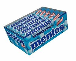 Mentos Chewy Mint Candy Roll Mint Non Melting Party 14 Pieces Pack of 15 $11.99