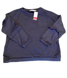 Ladies Women's Cotton Emporium Sweater Blouse Size XL Denim Blue Nordstrom $15.00