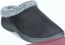 32 Degrees New Mens In Outdoor Roll Collar With Sherpa Thinsulate Clog Slippers $15.99