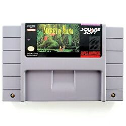 Secret of Mana Super Nintendo SNES 1993 Authentic Cart Only Tested $45.00