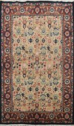 Vintage All Over Art Deco Chinese Oriental Area Rug Hand Knotted Wool Carpet 6x8 $805.35
