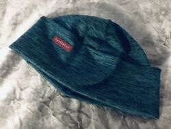 NWOT Turtle Fur Hat Cap Beanie Blue Print Fully Lined One Size $16.95