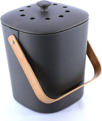 Bamboozle Food Composter Indoor Food Compost Bin for Kitchen Graphite $52.31
