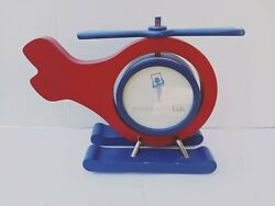 Pottery Barn Helicopter Kids Wooden Picture Frame $19.90