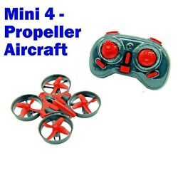 Mini RC Drone Remote Control Nano Quadcopter 3D Flip Boys Kids Stunt Toys US $24.95